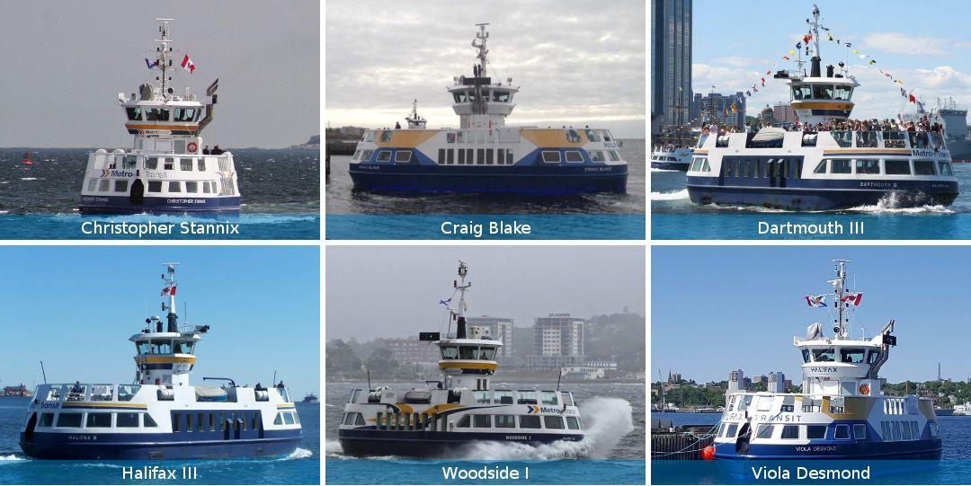 Halifax Transit Ferry Fleet