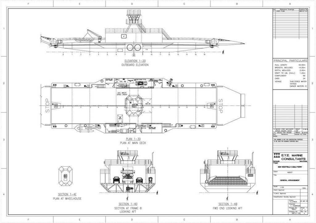Henry Nace General Arrangement Plan