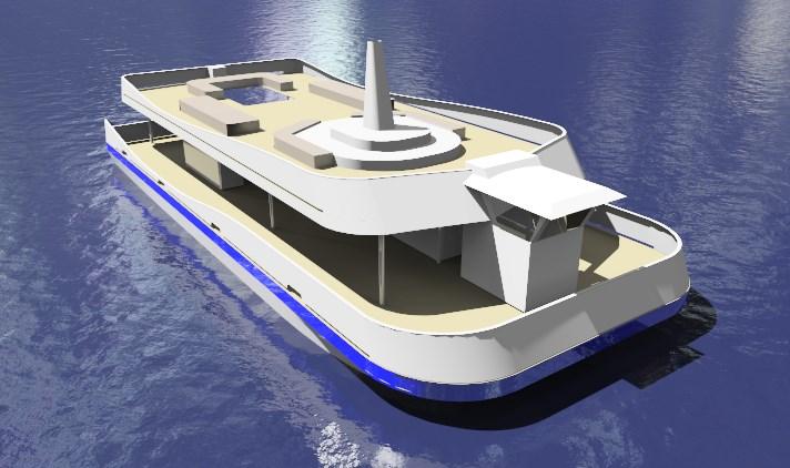 12014 Niagara Tour Boat render