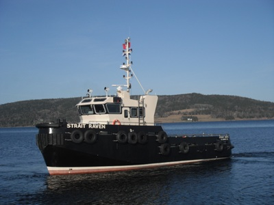 Strait Raven Tugboat – E Y E  Marine Consultants